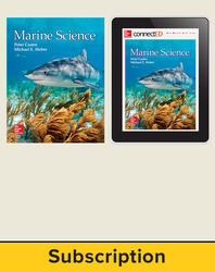 Castro, Marine Science © 2016, 1e, Student Bundle (Student Edition with ConnectED eBook), 1-year subscription