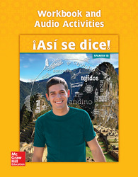 Asi se dice! Level 1B, Workbook and Audio Activities