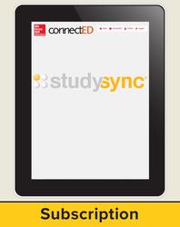 StudySync Grades 6-12 Student Subscription, 1-year