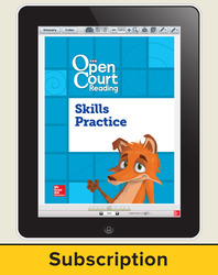 Open Court Reading Foundational Skills Kit Student License, 1-year subscription Grade 3