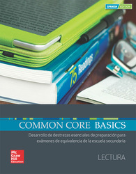 Common Core Basics Spanish Core Subject Module Reading Student Edition