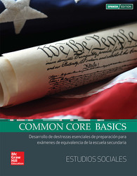 Common Core Basics Spanish Core Subject Module Social Studies Student Edition