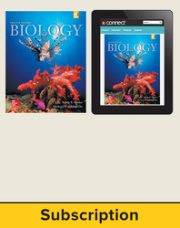 Mader, Biology © 2016, 12e (Reinforced Binding) Standard Student Bundle (Student Edition with Connect®), 6-year subscription