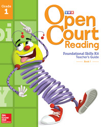 Open Court Reading Foundational Skills Kit, Teacher Guide Volume 1, Grade 1