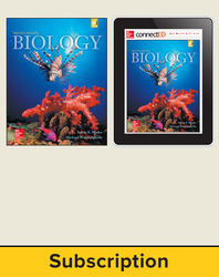 Mader, Biology © 2016, 12e (Reinforced Binding) Student Bundle (Student Edition with ConnectED eBook), 1-year subscription
