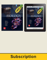 Raven, Biology © 2017, 11e (AP Edition) Student Bundle (Student Edition with ConnectED eBook), 1-year subscription
