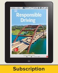Responsible Driving, Online Teacher, 6-yr Subscription