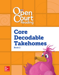 Open Court Reading, Core PreDecodable and Decodable 4-color Takehome Book 2, Grade 1