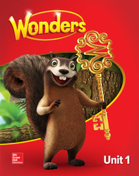 Wonders Student Edition, Unit 1, Grade 1