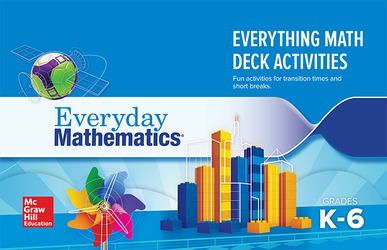 Everyday Mathematics 4: Grades K-6, The Everything Math Card Deck Activity Booklet