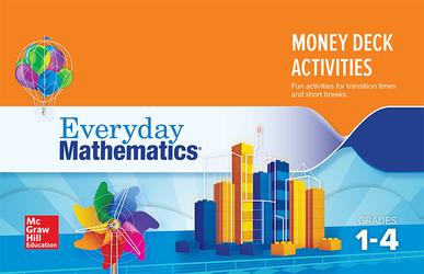 Everyday Mathematics 4: Grades 1-4, Money Card Deck Activity Booklet