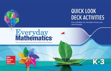 Everyday Mathematics 4: Grades K-3, Quick Look Activity Card Deck Booklet
