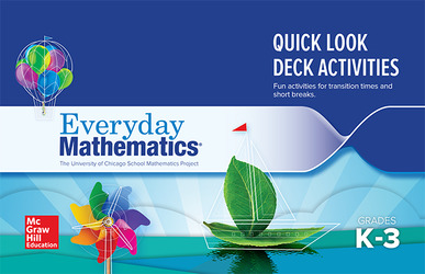 Everyday Mathematics 4: Grades K-3, Quick Look Activity Card Deck Booklet