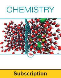 Chang, Chemistry © 2016, 12e, Student Bundle (Student Edition with ConnectED eBook), 1-year subscription