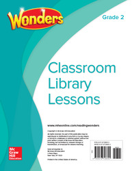 Wonders Classroom Library Lessons, Grade 2