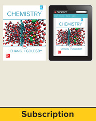 Chang, Chemistry © 2016, 12e, Standard Student Bundle (Student Edition with Connect® Plus), 1-year subscription
