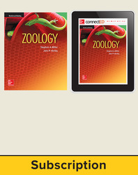 Miller, Zoology © 2016, 10e (Reinforced Binding) Student Bundle (Student Edition with ConnectED eBook), 1-year subscription