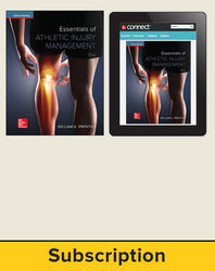 Essentials of Athletic Injury Management 2017 10e, Student Bundle (SE w eBook), 6-year subscription