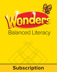 Wonders Balanced Literacy, 6 Year Student Workspace, Grade K