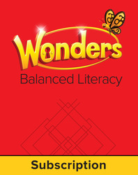 Wonders Balanced Literacy, 6 Year Student Workspace, Grade 1