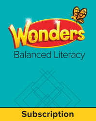 Wonders Balanced Literacy, 6 Year Student Workspace, Grade 2