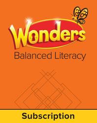 Wonders Balanced Literacy, 6 Year Student Workspace, Grade 3