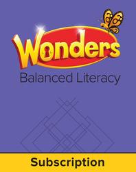 Wonders Balanced Literacy, 6 Year Student Workspace, Grade 5