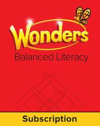 Wonders Balanced Literacy, 6 Year Teacher Workspace, Grade 1