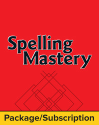 Spelling Mastery Level B Student Materials Package, 1-Year Subscription