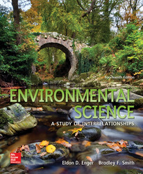 Enger, Environmental Science © 2016, 14e (Reinforced Binding) ConnectED eBook, 1-year subscription