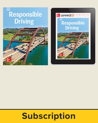 Responsible Driving, Online Student with Print Student Edition Bundle, 6 Year Subscription