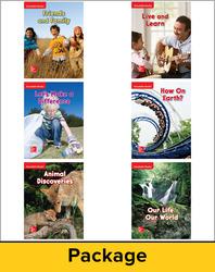 Wonders Decodable Readers Package (1 each of 6), Grade 2