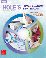 Shier, Hole's Human Anatomy and Physiology © 2016, 14e, Student Edition, Reinforced Binding
