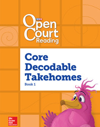 Open Court Reading, Core PreDecodable and Decodable 4-color Takehome 1, Grade 1