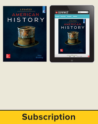 Brinkley, American History: Connecting with the Past UPDATED AP Edition © 2017, 15e, Standard Student Bundle, 6-year subscription (Student Edition with Connect®)