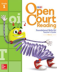 Open Court Reading Foundational Skills Kit, Teacher Guide Volume 2, Grade 1