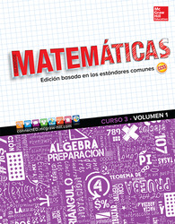 Glencoe Math, Course 3, Volume 1, Spanish Student Edition