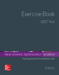 High School Equivalency Achieve, GED Exercise Book Science