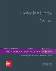 High School Equivalency Achieve, TASC Exercise Book Science
