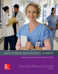 High School Equivalency Achieve Science, Instructor Resource Guide