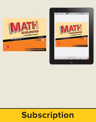 Glencoe Math Accelerated 2017, Complete Teacher Bundle, 6-year subscription