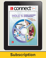 Shier, Hole's Human Anatomy and Physiology © 2016, 14e, Connect® Plus with APR, 6-year subscription