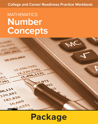 College and Career Readiness Skills Practice Workbook: Number Concepts, 10-pack