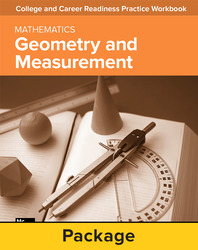 College and Career Readiness Skills Practice Workbook: Geometry and Measurement, 10-pack
