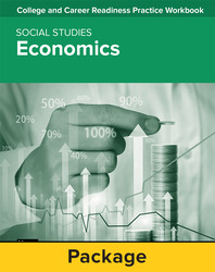 College and Career Readiness Skills Practice Workbook: Economics, 10-pack