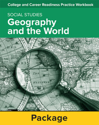 College and Career Readiness Skills Practice Workbook: Geography and The World, 10-pack