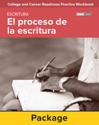 College and Career Readiness Skills Practice Workbook: The Writing Process Spanish Edition, 10-pack