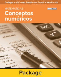 College and Career Readiness Skills Practice Workbook: Number Concepts Spanish Edition, 10-pack