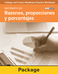 College and Career Readiness Skills Practice Workbook: Ratios, Proportions, and Percents Spanish Edition, 10-pack