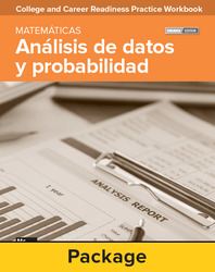College and Career Readiness Skills Practice Workbook: Data Analysis and Probability Spanish Edition, 10-pack